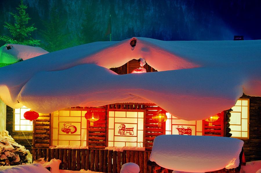 王鸿达:雪 乡 行
